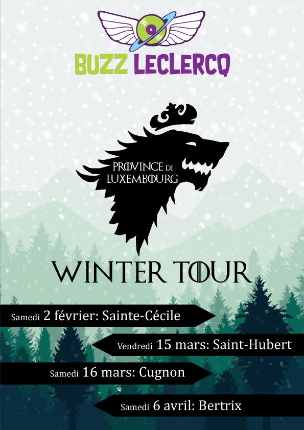 winter tour buzz leclercq